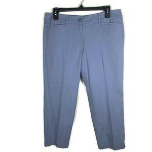 Ann Taylor Loft 6p Original Crop Pants Stretch